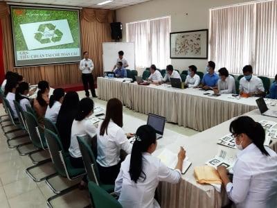 AHEAD tư vấn tiêu chuẩn tái chế toàn cầu GRS tại Công ty Cổ phần Tập đoàn Thái Tuấn