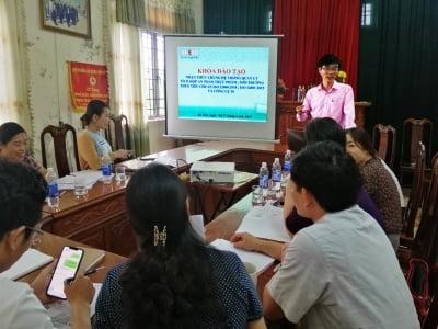 Đào tạo ISO 14001:2015, ISO 22000:2018 và 5S tại Công ty Cổ phần Xuất nhập khẩu Thủy sản Nam Hà Tĩnh