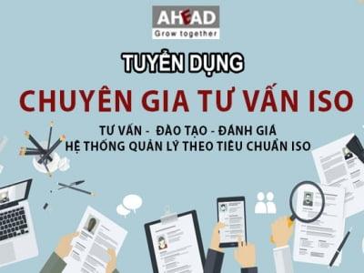 AHEAD Hà Nội - Tuyển dụng Chuyên gia tư vấn Tháng 10/2019