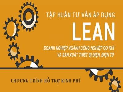 Chương trình hỗ trợ kinh phí - LEAN