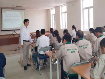 Khóa đào tạo ISO 9001, ISO 22000 và 5S tại Công ty CP KKF