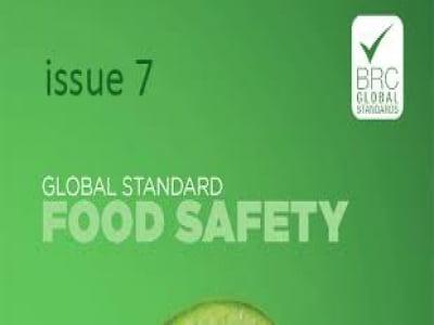 Tiêu chuẩn An toàn Thực phẩm toàn cầu BRC phiên bản 7  (BRC Food Issue 7)