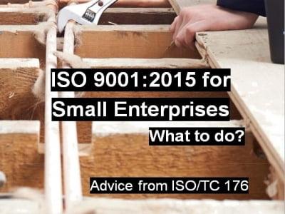 Áp dụng ISO 9001:2015 cho doanh nghiệp nhỏ và vừa (SME)