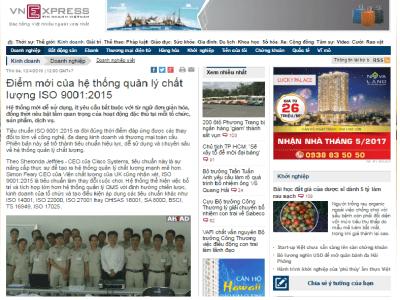 ISO 9001:2015 - Những câu hỏi thường gặp